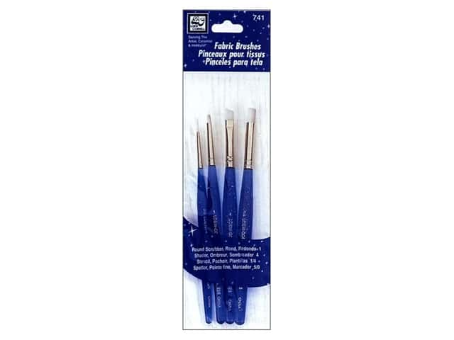 Loew Cornell Brush Set Nylon 4pc