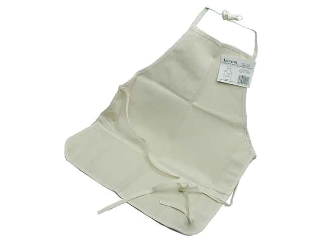 "Janlynn Apron Canvas 10oz Cotton 18""x 24"" Natural"