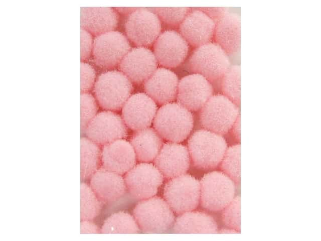 Pom Pom by Accent Design 1/8 in. Pink 40pc. (3 packages)