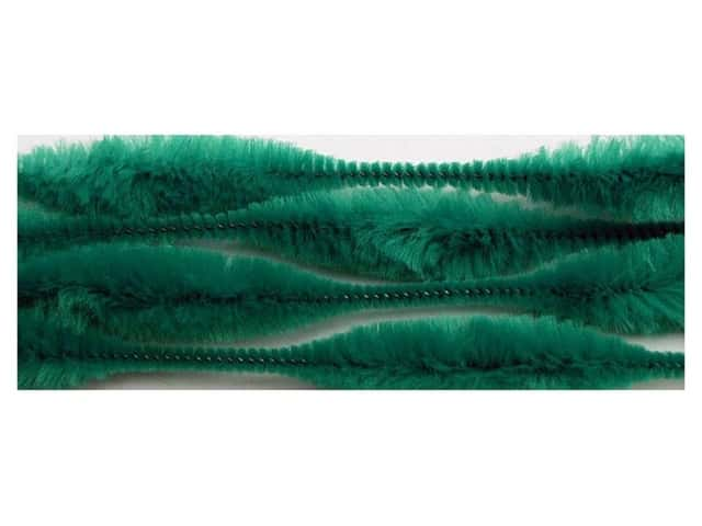 Bump Chenille Stems by Accents Design 15 mm x 12 in. Green 12 pc. (3 packages)