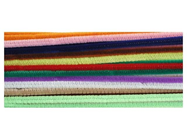"Accent Design Chenille Stem 12""x 6mm Multi (3 packages)"