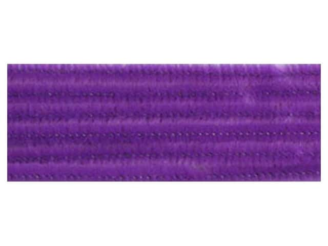 "Accent Design Chenille Stem 12""x 6mm Lavender (3 packages)"