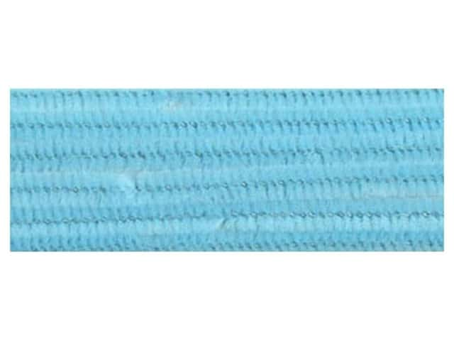 "Accent Design Chenille Stem 12""x 6mm Light Blue (3 packages)"