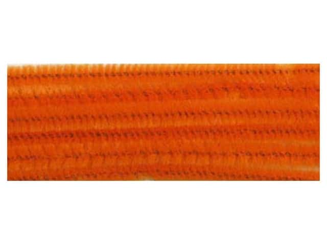 Chenille Stems by Accents Design 6 mm x 12 in. Orange 25 pc. (3 packages)