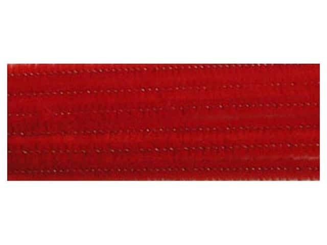 Chenille Stems by Accents Design 6 mm x 12 in. Red 100 pc.