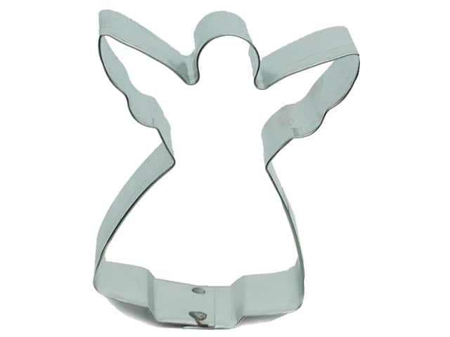 "Fox Run Craftsmen Cookie Cutter 3"" Angel (3 pieces)"