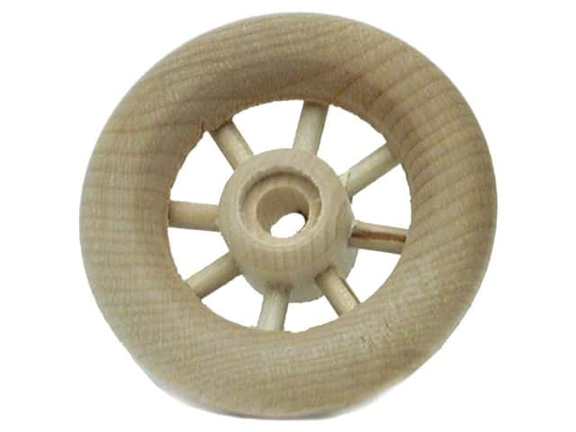 "Woodworks Spoke Wheel Bulk 2"" Diameter (2 pieces)"