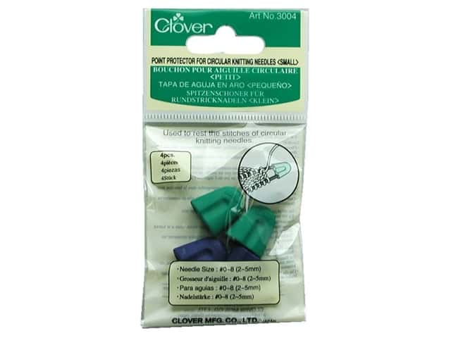 Clover Point Protector For Circular Needles Small 4 pc.