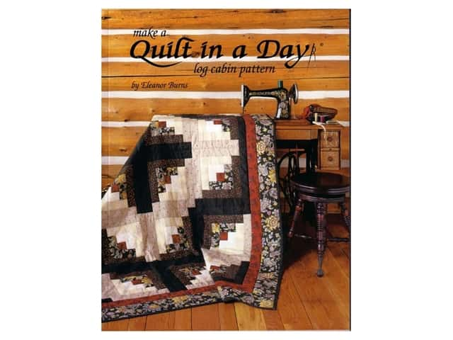 Make a Log Cabin Quilt in a Day Bk