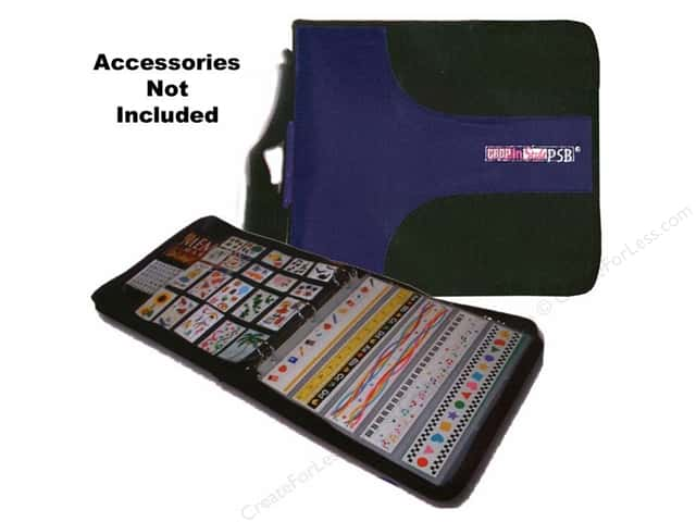 Crop In Style Paper Sticker Binder (PSB) Navy and Black