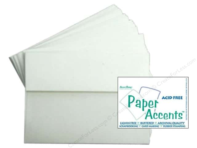 5 x 7 in. Blank Card & Envelopes by Paper Accents 8pc. Birch