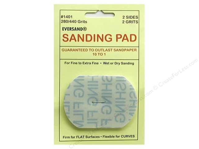 Eversand Carded Sanding Pads Small 280/400