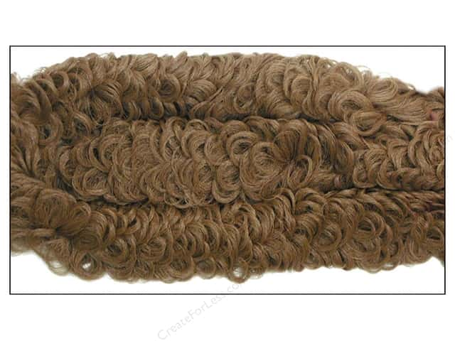 "Accent Design Chenille Stem 38mm Curly 36"" Brown"
