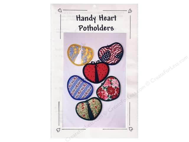 Classic Crafts Handy Heart Potholders Pattern