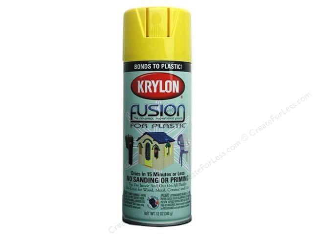 Krylon Fusion Paint 12 oz Sunbeam