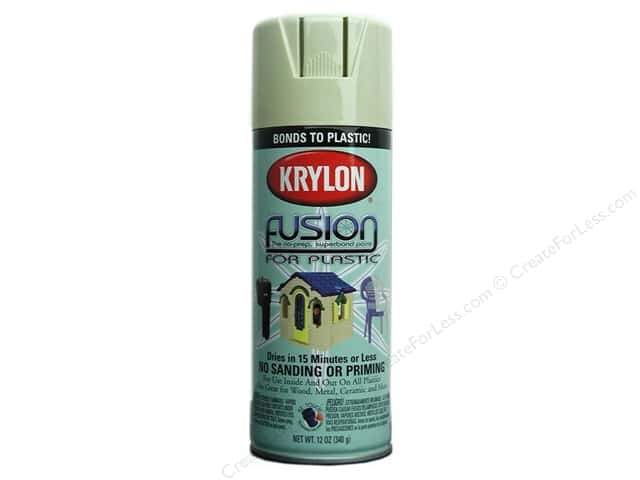 Krylon Fusion Paint 12 oz Honeydew