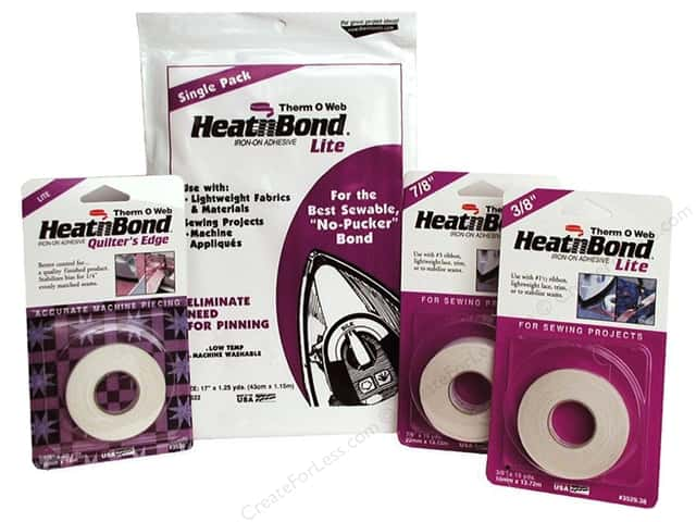 Heat n Bond Lite Iron-on Adhesive