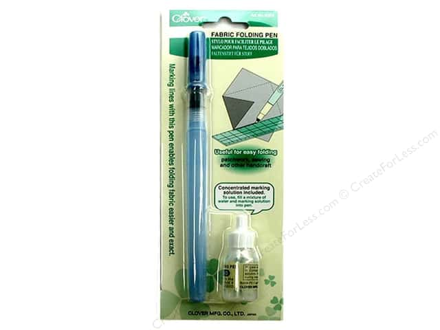 Clover Fabric Folding Pen 2 pc