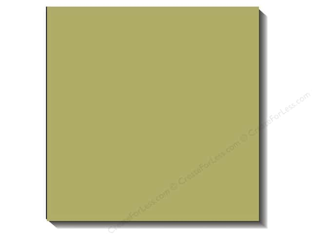Bazzill 12 x 12 in. Cardstock Canvas #569 Pear 25 pc.