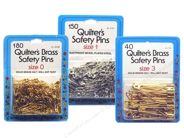 Collins Quilter's Safety Pins