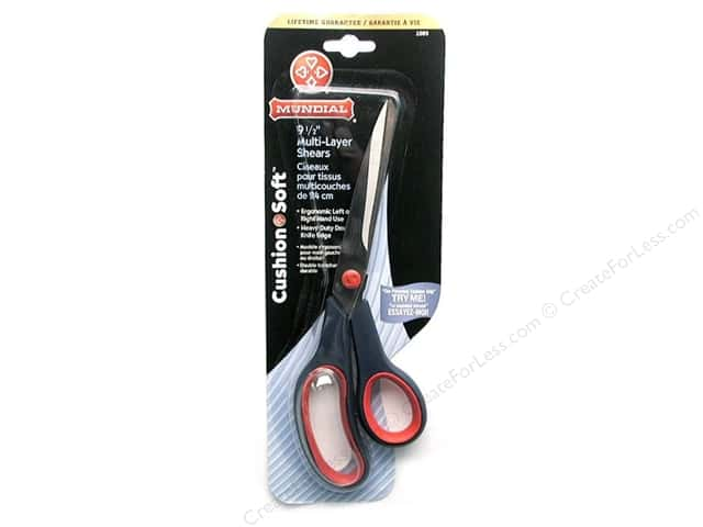 "Mundial Scissors Cushion Soft Multi-Layer 9.5"" Red"