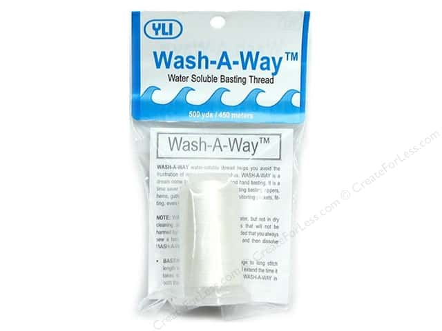 YLI Wash-A-Way Thread 500 yd Cone