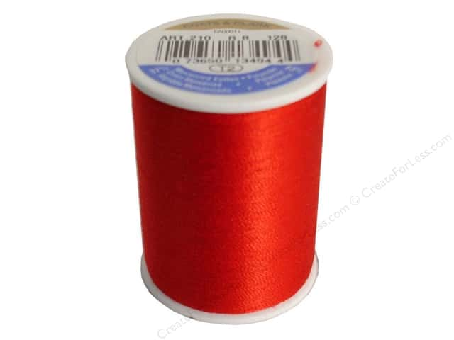 Coats & Clark All Purpose Thread 300 yd. #128 Red