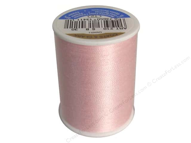 Coats & Clark All Purpose Thread 300 yd. #30 Light Pink