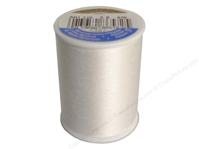 Coats & Clark All Purpose Thread 300 yd. #470 Winter White