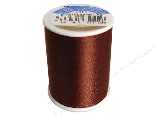 Coats & Clark All Purpose Thread 300 yd. #50 Dark Brown