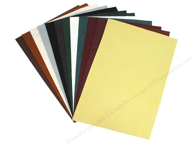 National Nonwovens WoolFelt 12 x 18 in. 35% Victorian (12 sheets)