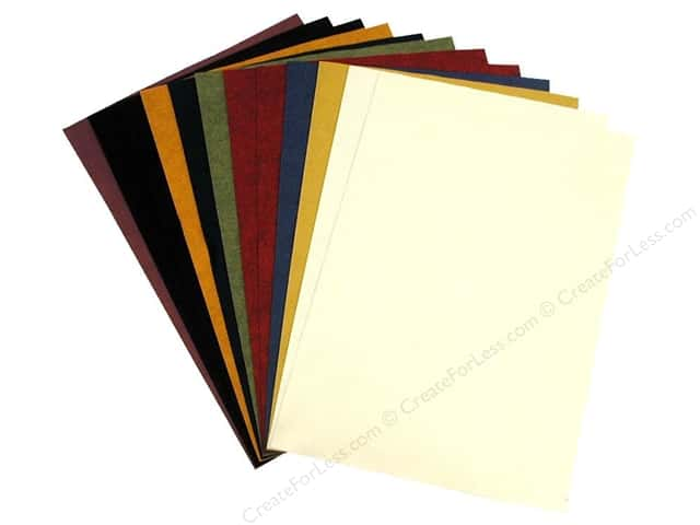 "National Nonwovens WoolFelt 12""x 18"" 20% Most Popular/Country (12 sheets)"