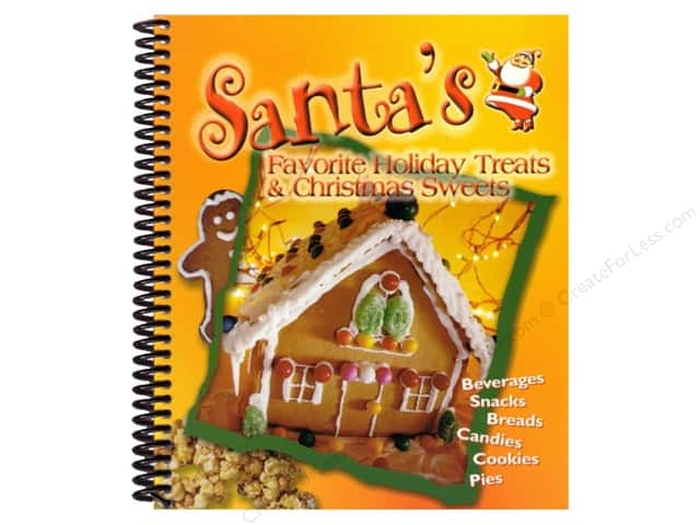 CQ Products Santa's Favorite HolidayTreats & Christmas Sweets Book