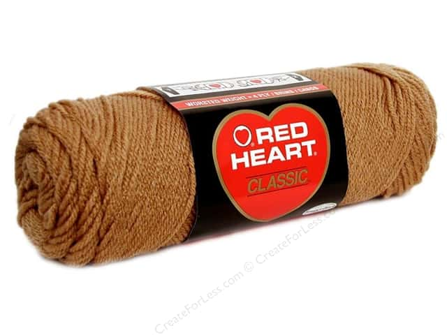 Red Heart Classic Yarn 4ply Warm Brown