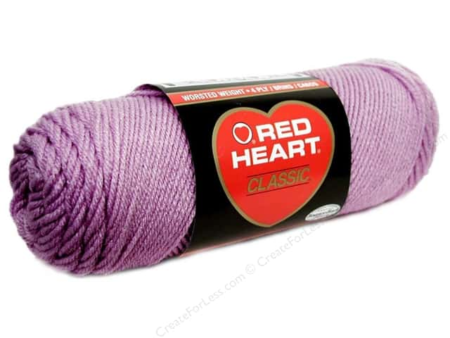 Red Heart Classic Yarn 4ply Lavender