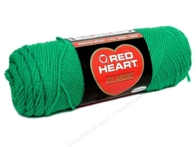 Red Heart Classic Yarn 4ply Emerald