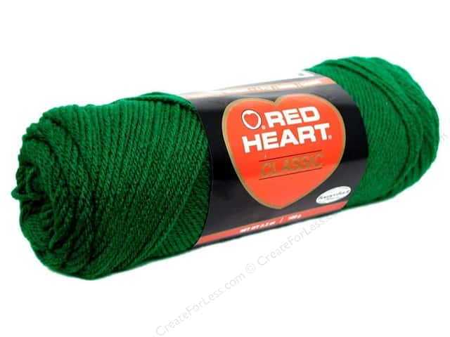 Red Heart Classic Yarn #686 Paddy Green 190 yd.