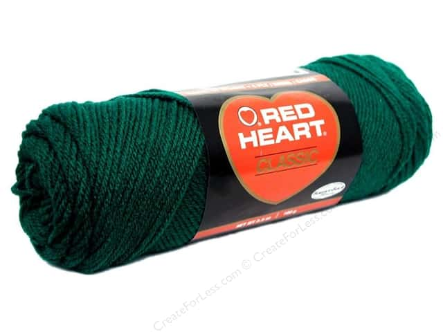 Red Heart Classic Yarn 4ply Forest Green