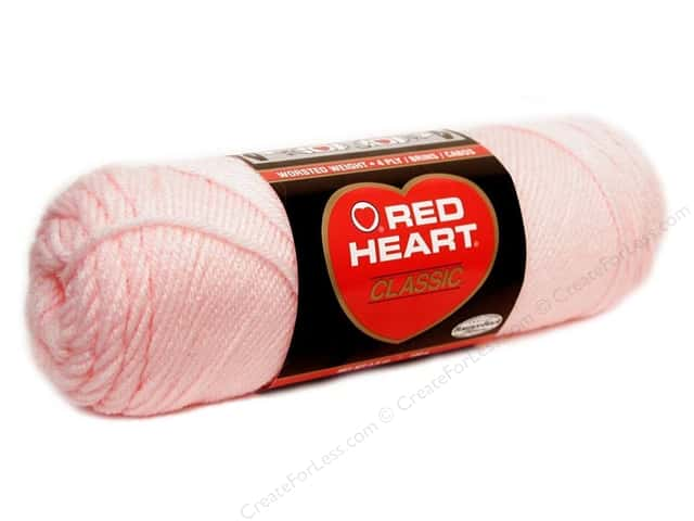 Red Heart Classic Yarn #719 Lily Pink 190 yd.