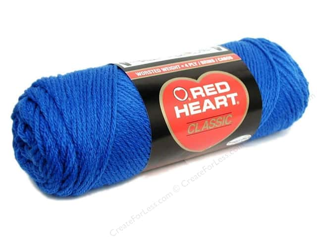 Red Heart Classic Yarn 4ply Skipper Blue