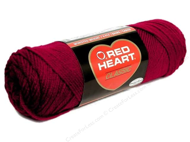 Red Heart Classic Yarn 4ply Cardinal
