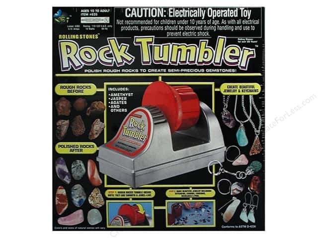 NSI Activity Kit Rolling Stones Rock Tumbler -