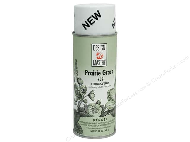 Design Master Colortool Spray Paint #752 Prairie Grass 12 oz.