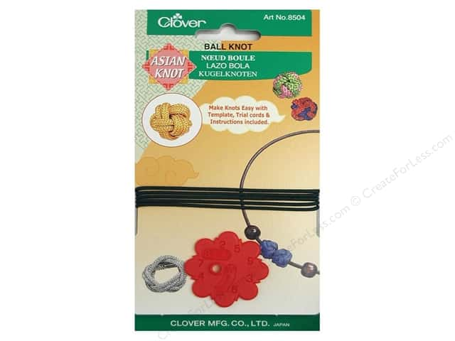 Clover Asian Knot Template Ball