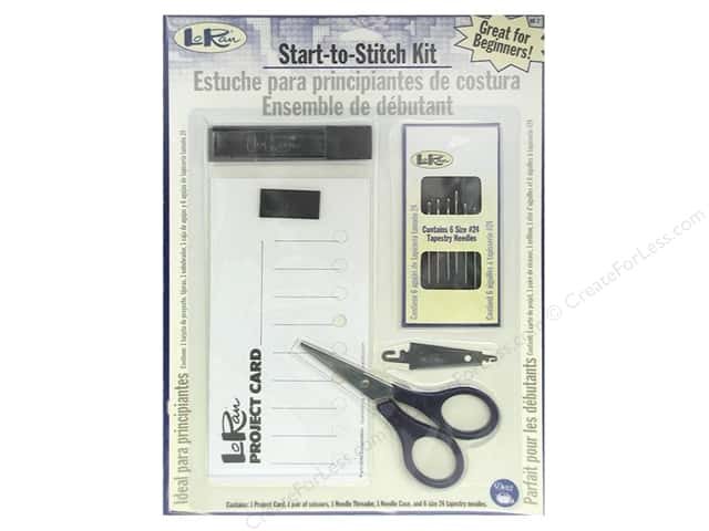 LoRan /Dritz Start-to-Stitch Kit