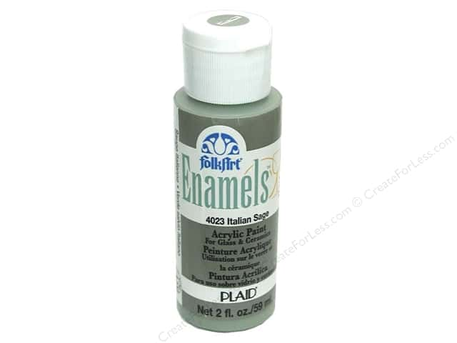 Plaid FolkArt Enamels Paint 2 oz. #4023 Italian Sage