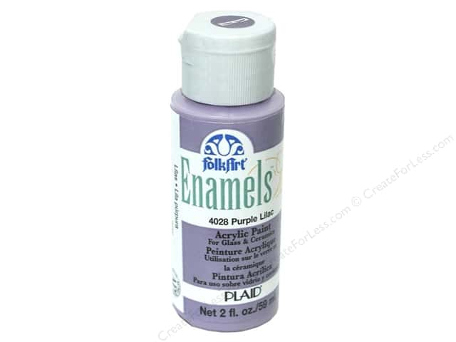 Plaid FolkArt Enamels Paint 2 oz. #4028 Purple Lilac