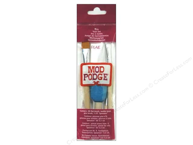 Plaid Mod Podge Tools