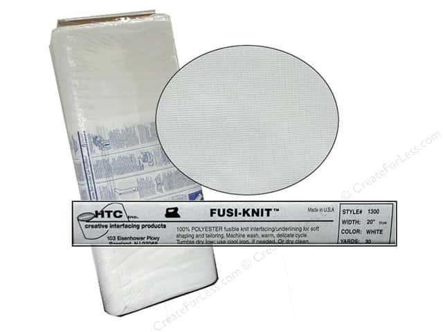 "Handler Fusi-Knit Tricot Interfacing 100% Polyester 20"" 30 yd (30 yards)"
