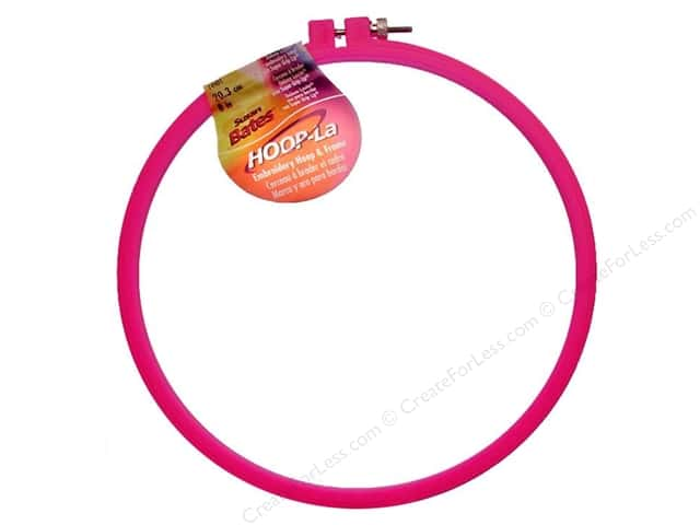 Bates Embroidery Hoops Hoop-La 8""